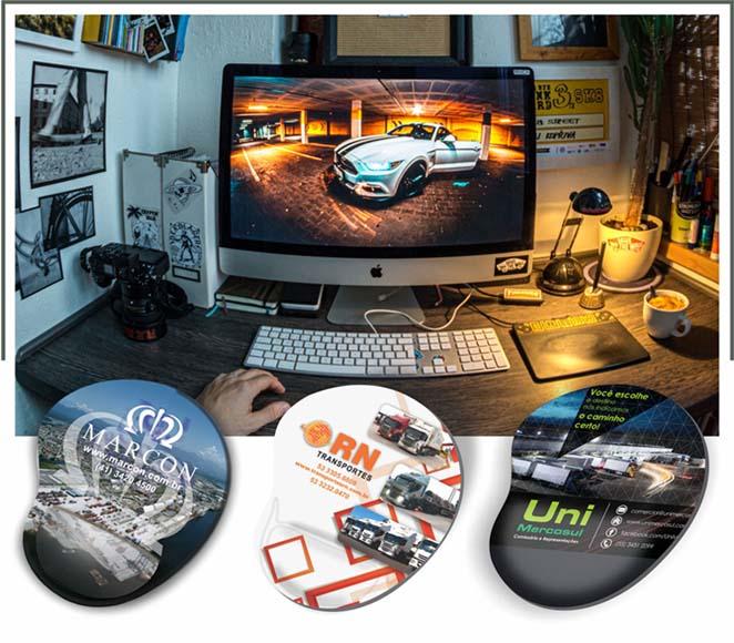MousePad Ergonômico Digital - MPD.398398