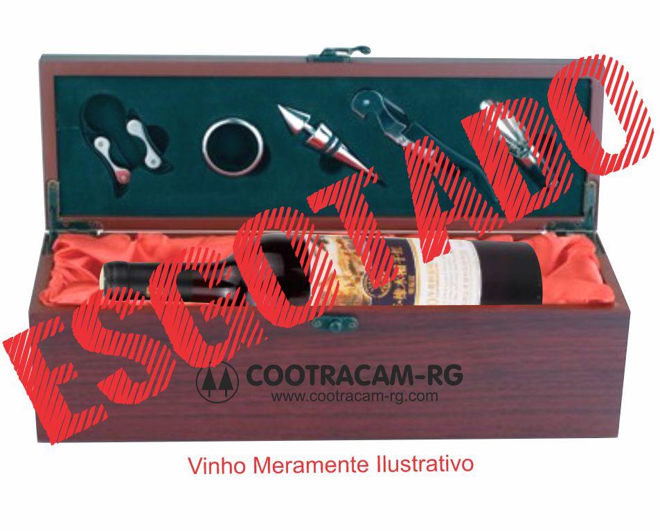 Maleta Madeira, Porta Vinho - MCV.953341