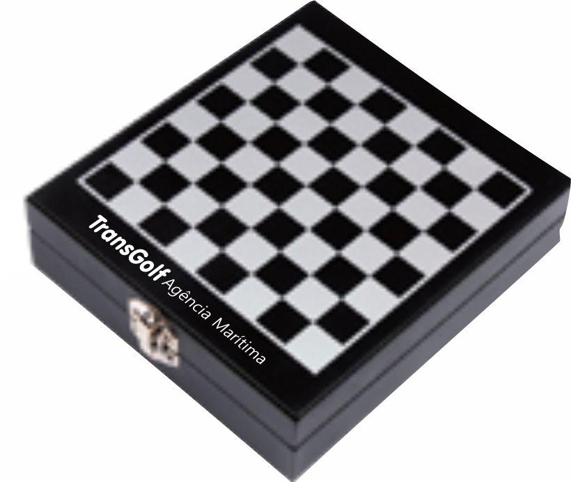 Kit Vinho Xadrez, 4 peças - RE.7066
